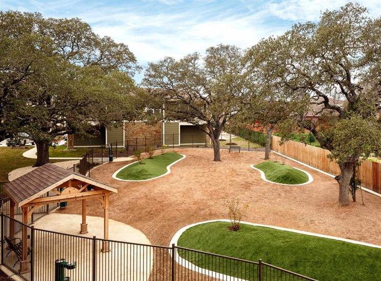 Fenced Bark Park For Your Best Friend at Thirty Oaks, San Antonio, 78253