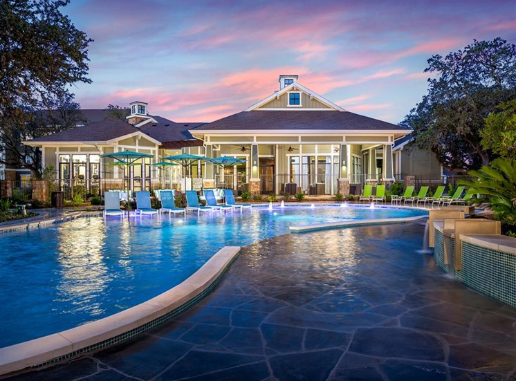 Resort Style Pool with Ample Wet Deck at Thirty Oaks, San Antonio, 78253