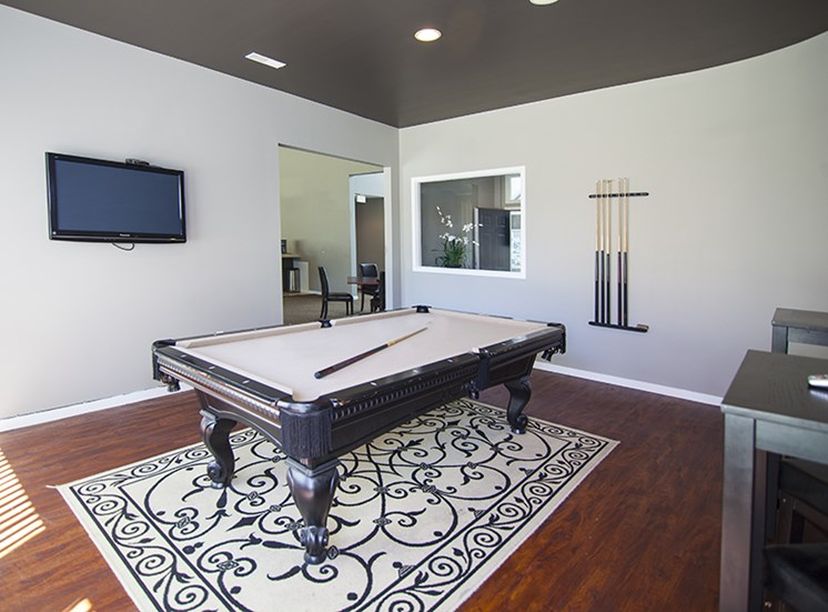 Prentiss Pointe Apartments Billiard Room at 39111 Prentiss Road, Michigan