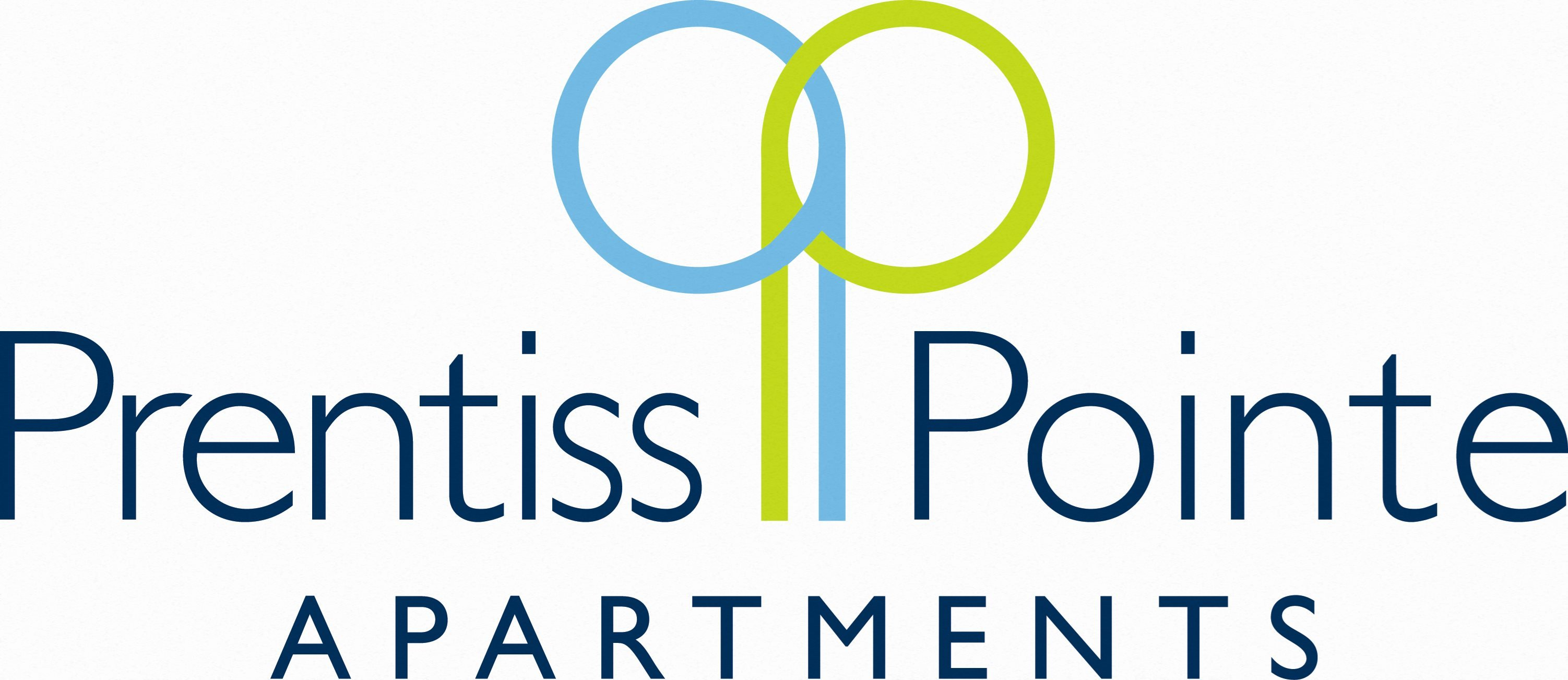 Logo for Prentiss Pointe Apartments in Harrison Township, MI