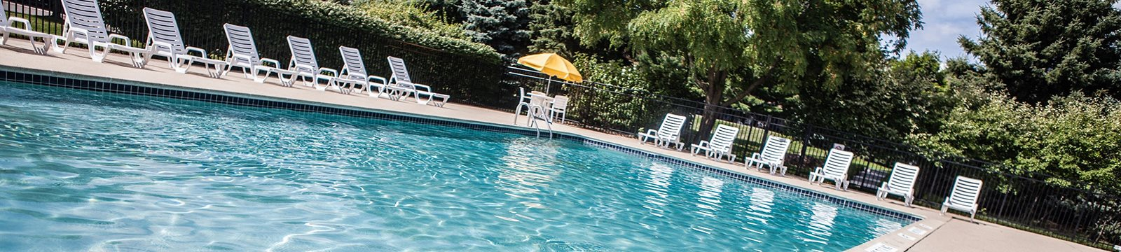 Resort-Style Pool at Dover Hills Apartments, Michigan