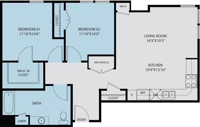 Unit C Floor Plan 2
