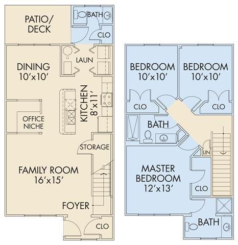The Dunham TH Floor Plan 5