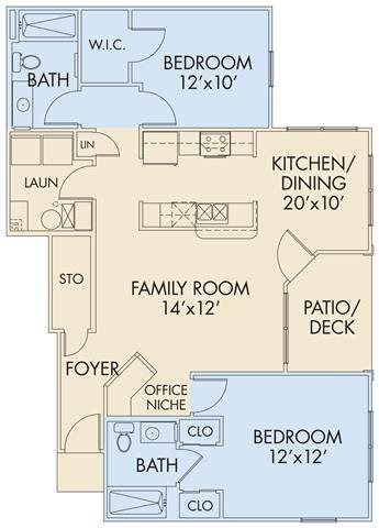 The Preston Floor Plan 2