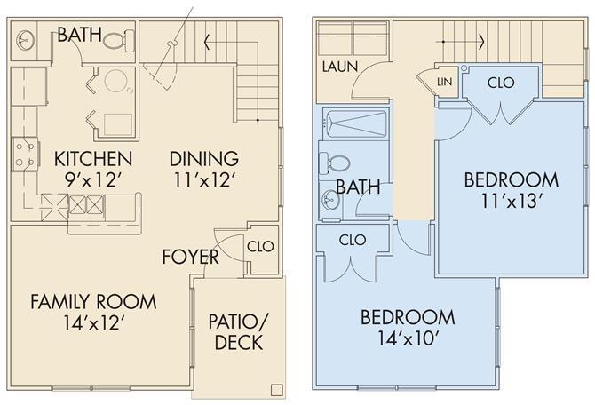 The Selden TH Floor Plan 4
