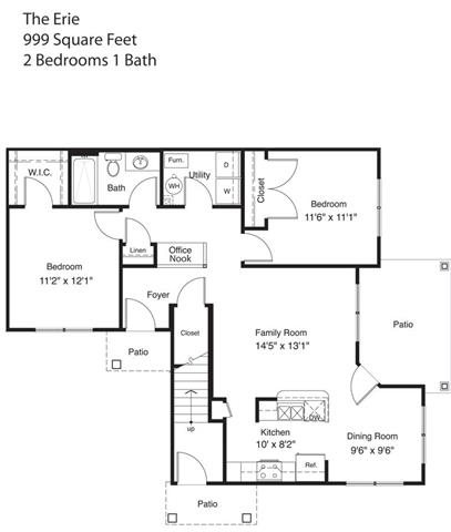 The Erie Floor Plan 5