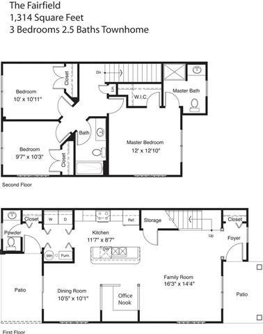 The Fairfield Floor Plan 3