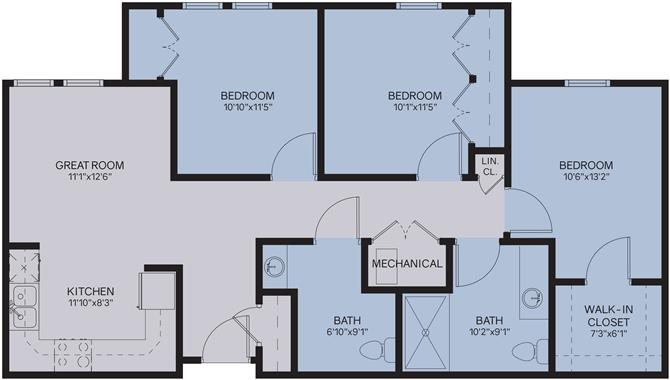 3A Floor Plan 4