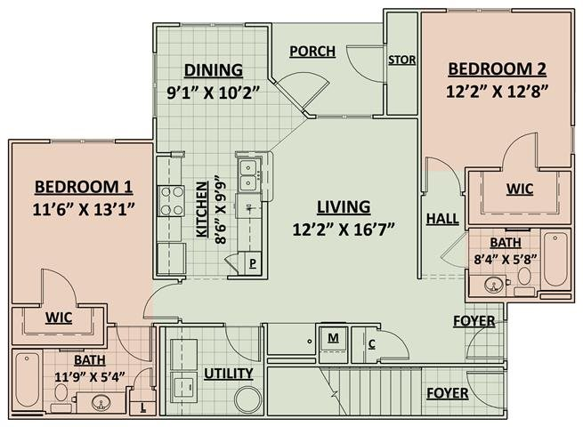 Magnolia Floor Plan 2