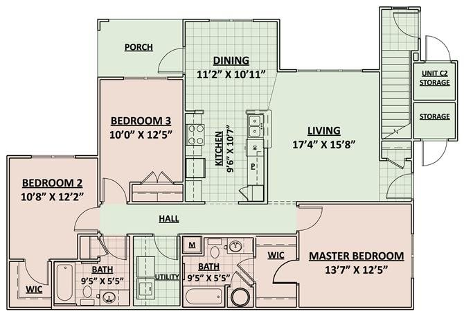 Spirit Floor Plan 3