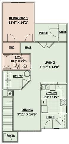 Tidewater Floor Plan 1