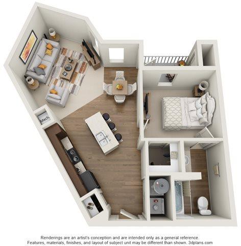 The Glenarm Floor Plan 3