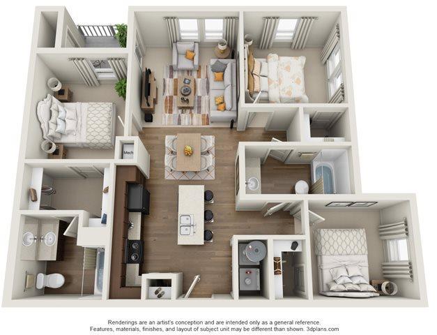 The Leisure Floor Plan 5
