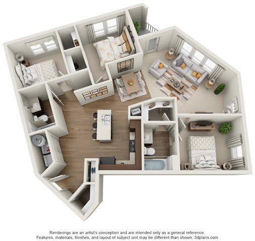 The Crossroads Floor Plan 6