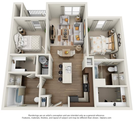 The Altgelt Floor Plan 4