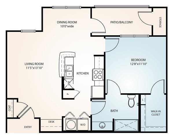 The Hawthorne Floor Plan 1