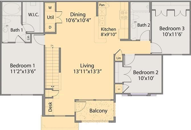 The Gijion Floor Plan 3
