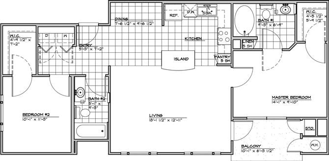 The Aparece Floor Plan 2