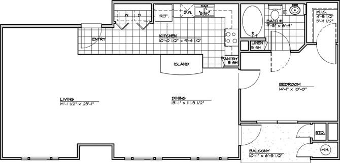 The Expresa Floor Plan 1