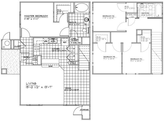 The Ventana Floor Plan 4