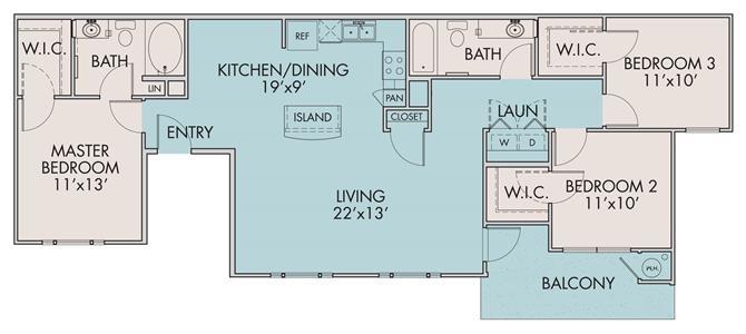 The Boqueria Floor Plan 3