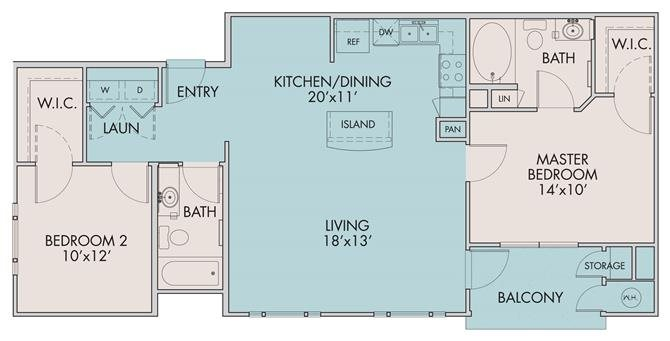 The Ramblas Floor Plan 2