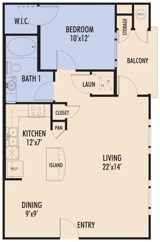 Almansa Floor Plan 1