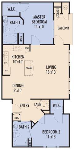 Serrano Floor Plan 3