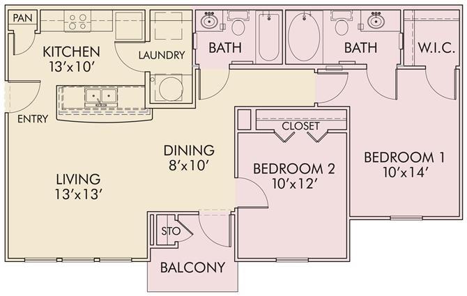 Ridgecrest Floor Plan 3