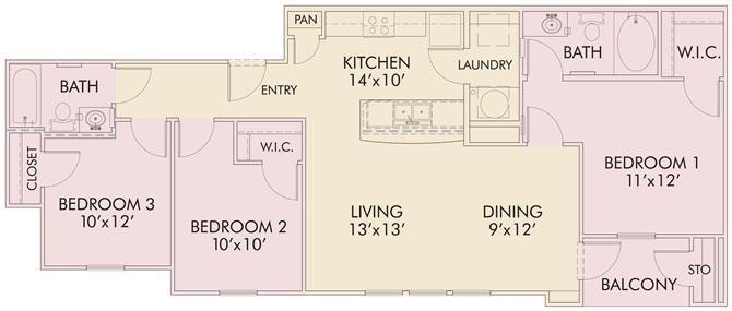 Woodcrest Floor Plan 4