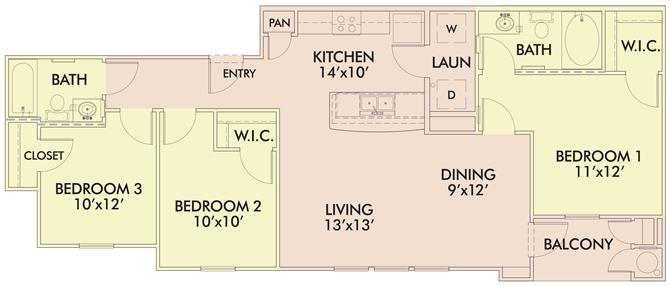 The Hibiscus Floor Plan 4