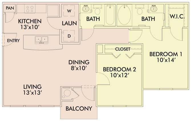 The Jasmine Floor Plan 3
