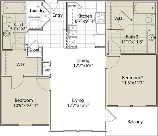 Magnificent Floor Plans Of Race Street Lofts In Fort Worth Tx Interior Design Ideas Helimdqseriescom