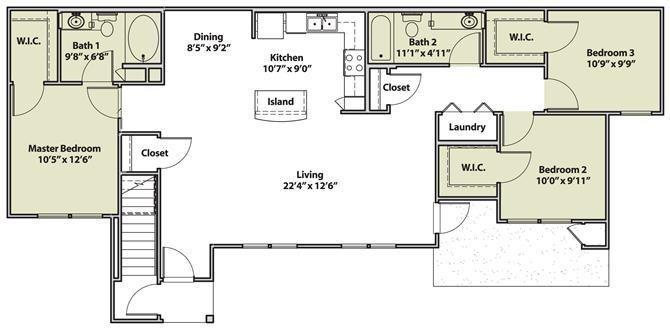 The Monacillos Floor Plan 3