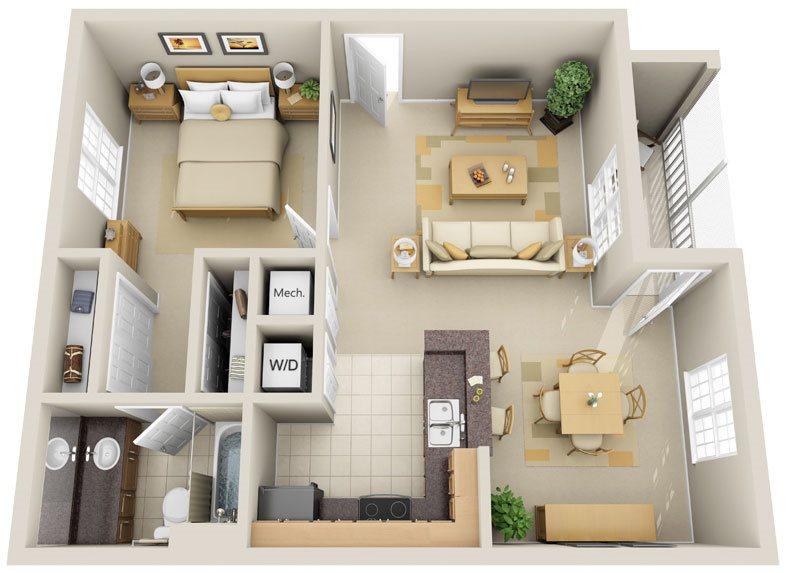 A1 - Artist Floor Plan 1
