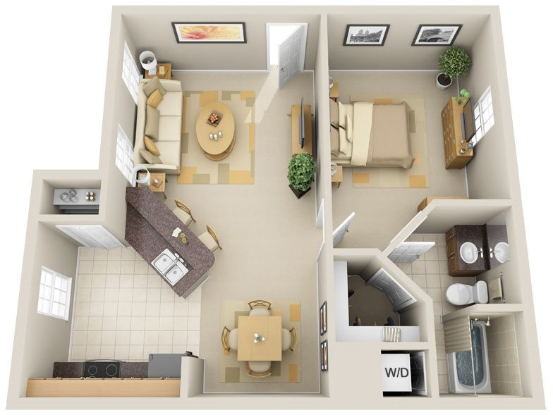 A2 - Bahia Key Floor Plan 2