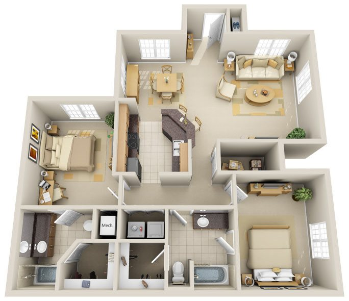 B1 - Coral Key Floor Plan 8