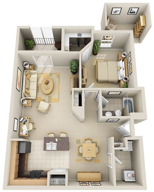 A6 - Rockland Key patio Floor Plan 6