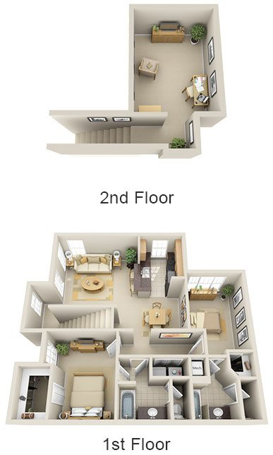 B3 - Summerland Key With Loft Floor Plan 10