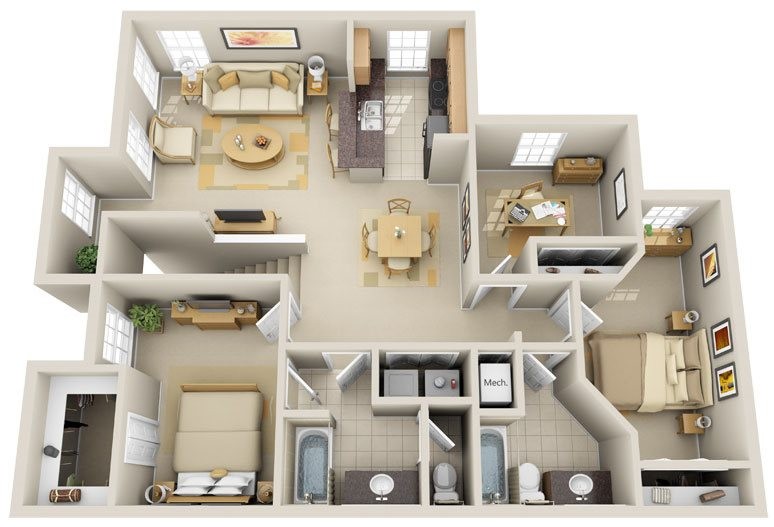 C2 - Sunshine Key Floor Plan 13