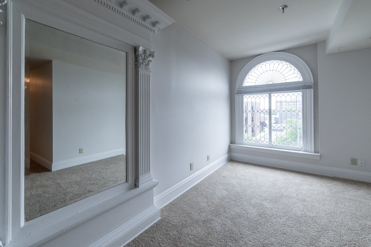 Open Floorplan For Custom Interior at Library Square, Indianapolis