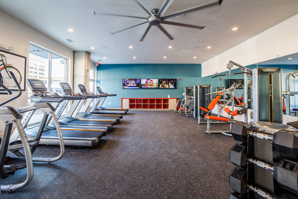 The Congress State-of-the-Art Fitness Center  at Library Square, Indiana, 46204