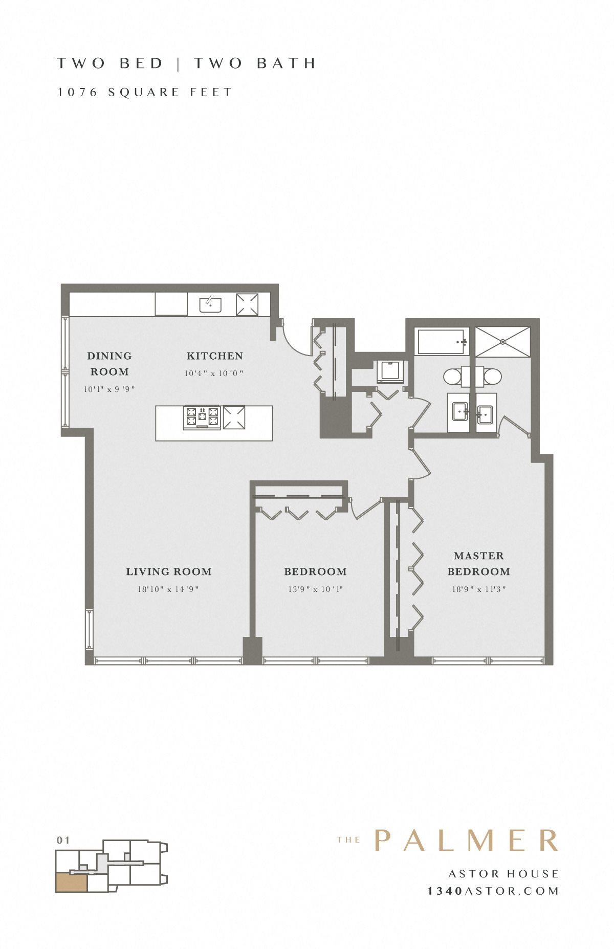 Astor House Floor Plan - Palmer