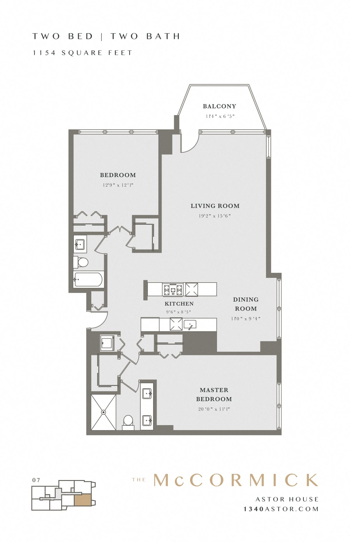 Astor House Floor Plan - McCormick