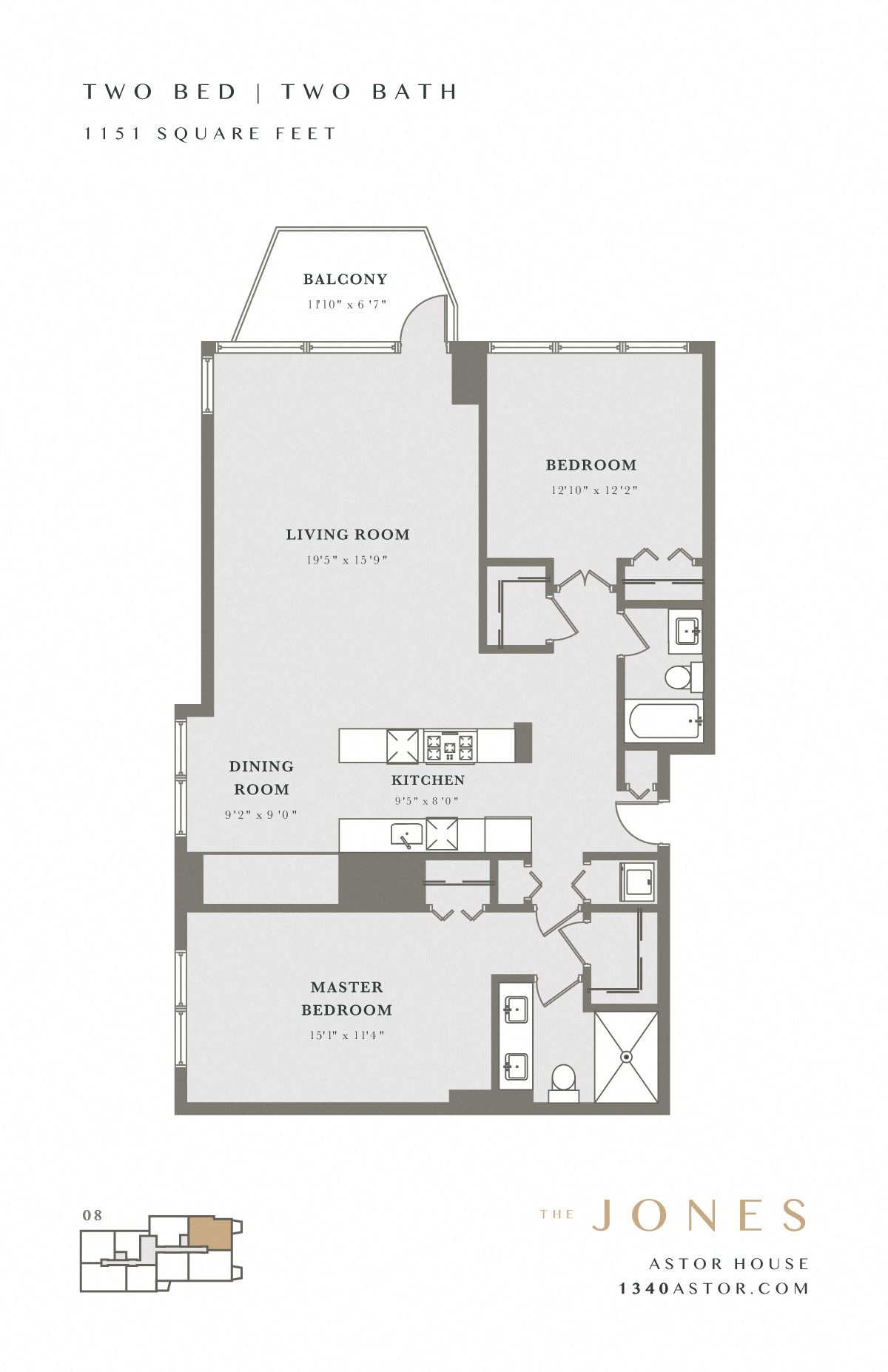 Astor House Floor Plan - Jones