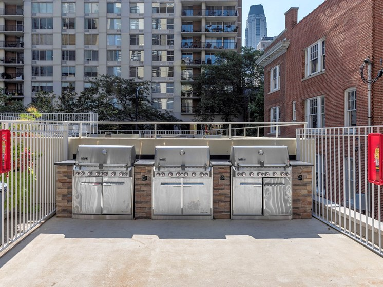 65 East Scott Patio Grills