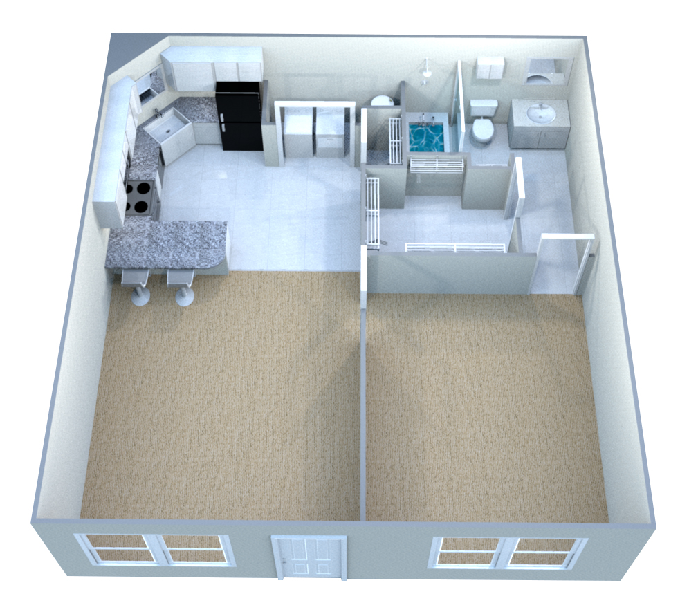 The Cliffs Apartments: Floor Plans Of The Cliffs II In Fayetteville, AR