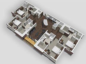 4 Bedroom Apartment at Bear Village