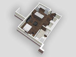 Studio Apartment at BV