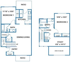 2, 3 and 4 bedroom townhomes for rent